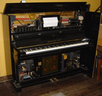 Bechstein Welte reproducing piano